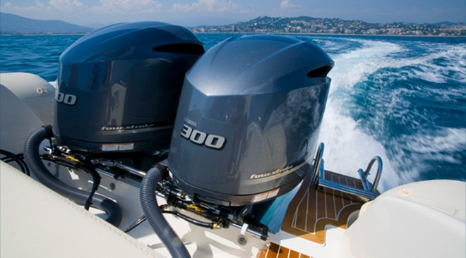 Dealer Yamaha outboard engine's