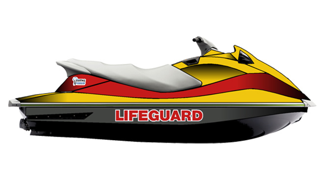 Waverunner waterscooters