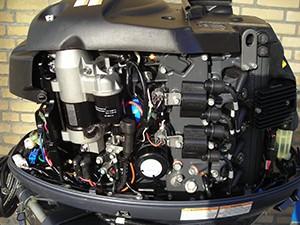 Yamaha 70PK 4takt blok